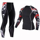 2 Piece Men's Compression Clothing