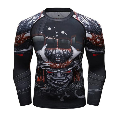Samurai Rash Guard