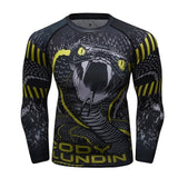 Snake Attack Rash Guard