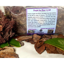 Load image into Gallery viewer, Purple Sea Moss 1/2 Pound