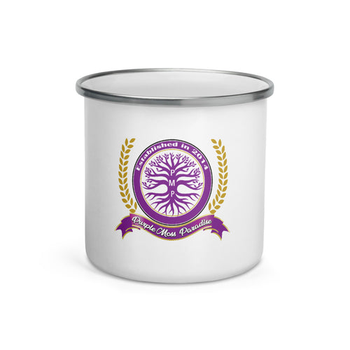 PMP Crest Enamel Mug (shipped by 3rd party)