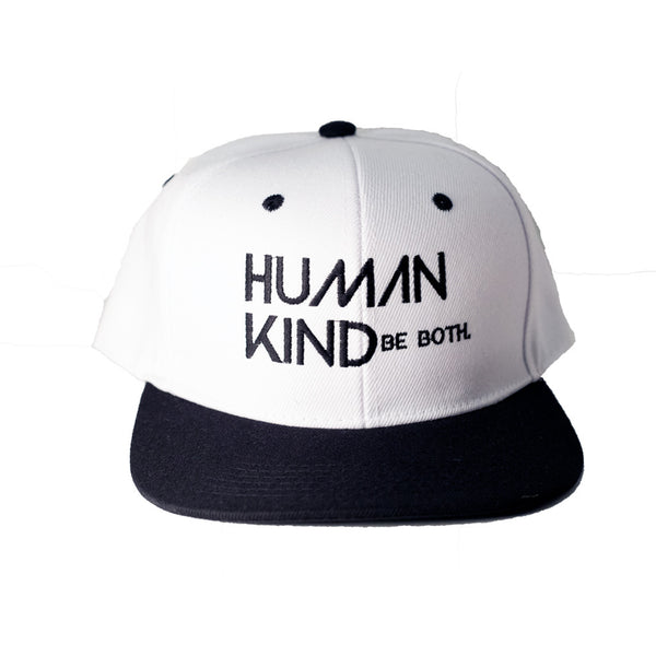 Human Kind Be Both Snapback Basic - Digital Native Designs