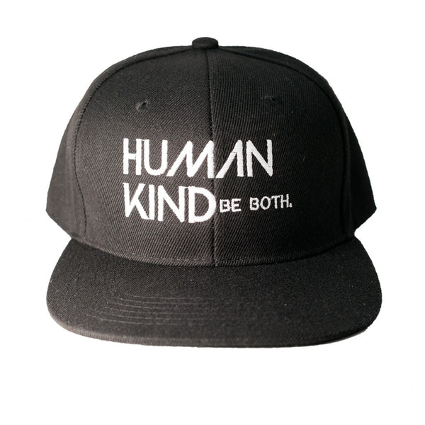 Human Kind Be Both Snapback Black - Digital Native Designs