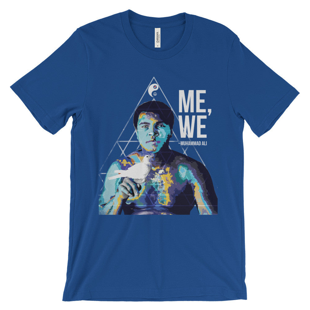 Me We Unisex short sleeve t-shirt - Digital Native Designs
