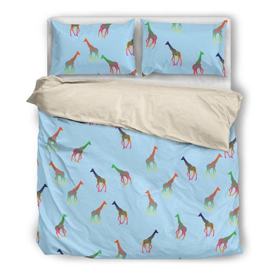 Giraffe Bedding Set.