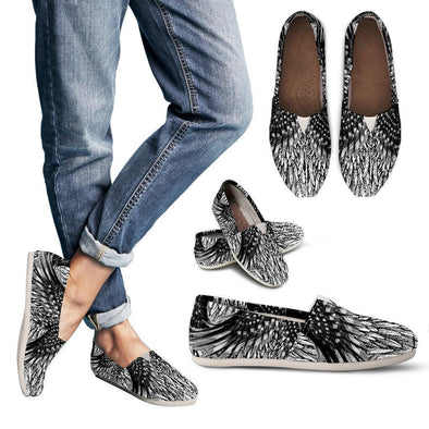 Clearance Artistic Feathered Casual Shoes