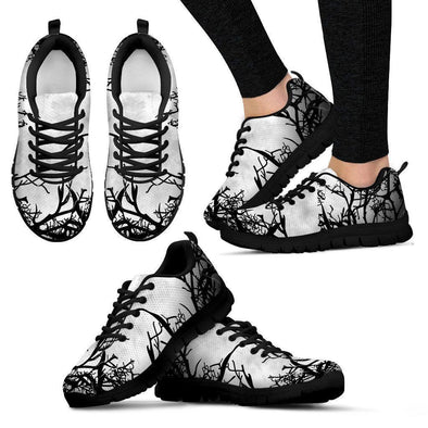 Clearance Gloomy Trees Sneakers
