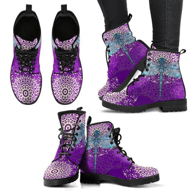 Clearance Mandala Dragonfly Boots