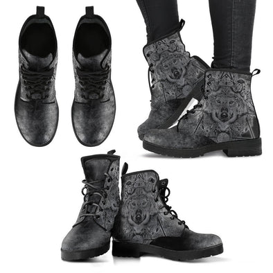 Clearence Grungy Wolf Boots