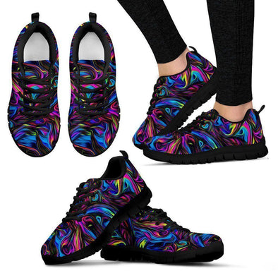 Clearance Psychedelic Art Sneakers