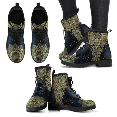 Clearance Gold Elephant Boots