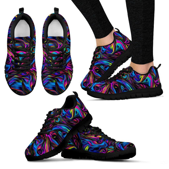 Limited Time 60% Colorful Psychedelc Art Handcrafted Sneakers
