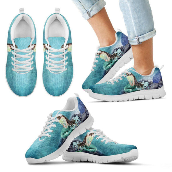 Kids Mermaid Sneakers.