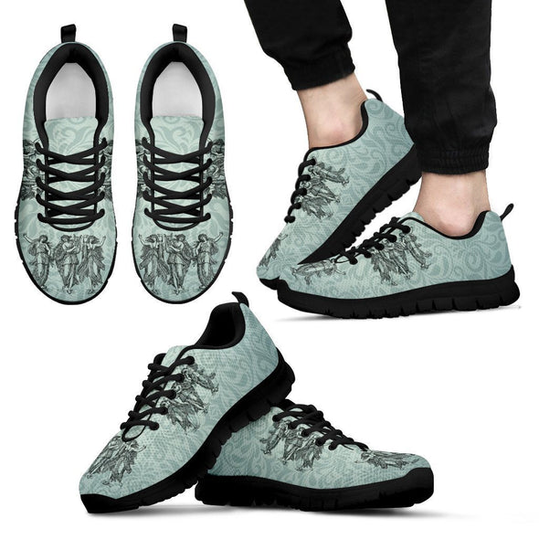 Mens Greek Goddess Sneakers.