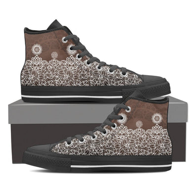 Mens Lace High Top.