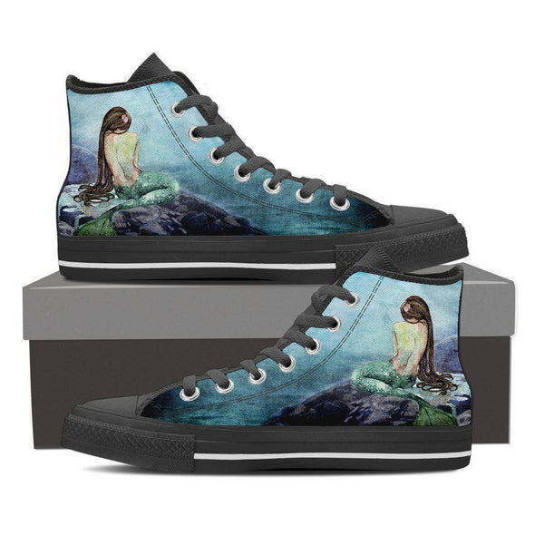 Womens Mermaid High Top.