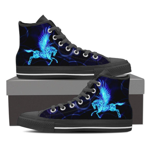 Pegasus High Top Canvas(Black)