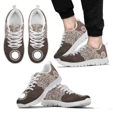 Mens Lace Design Sneakers.