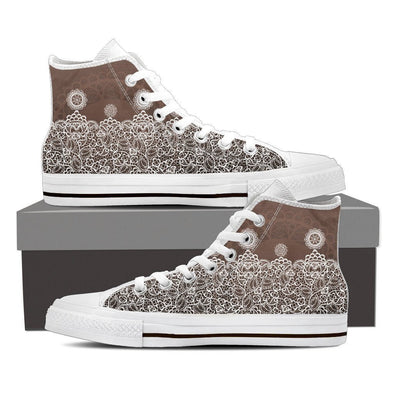Womens Lace High Top.