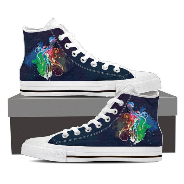Mens Octopus High Top.