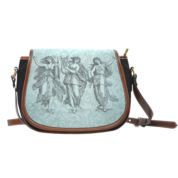 Greek Goddess Saddle Bag