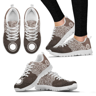 Womens Lace Design Sneakers.