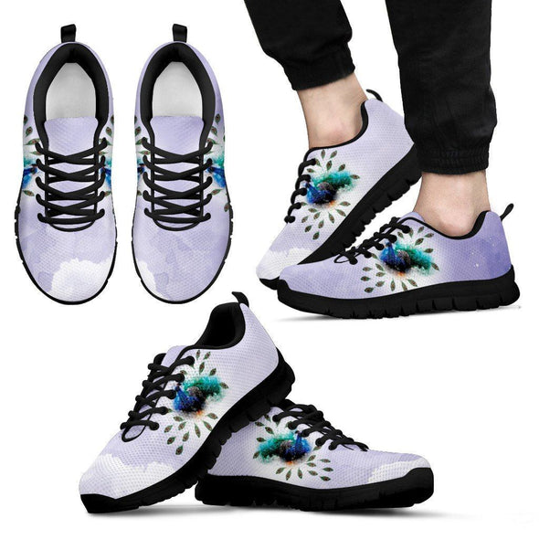 Mens Peacock Sneakers.