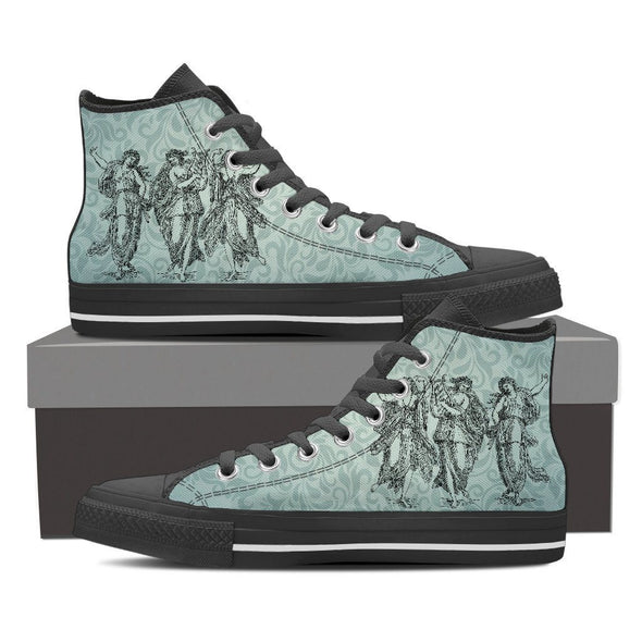 Womens Greek Goddess High Top.