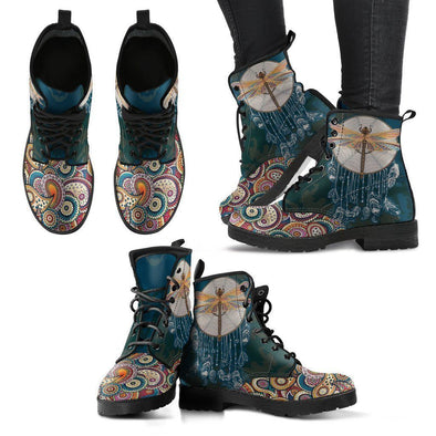 Clearance Dragonfly Paisley Boots