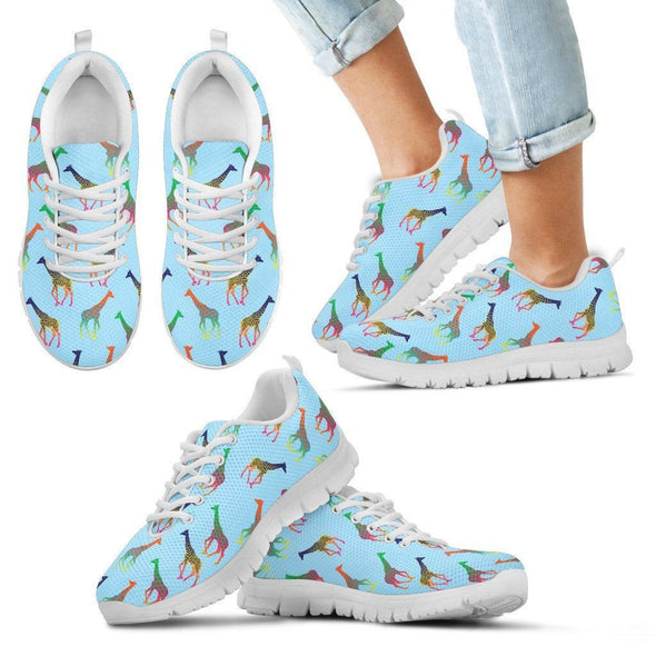 Kids Giraffe Sneakers.