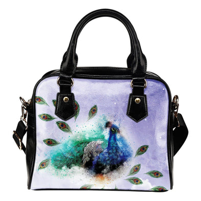 Peacock Shoulder Handbag