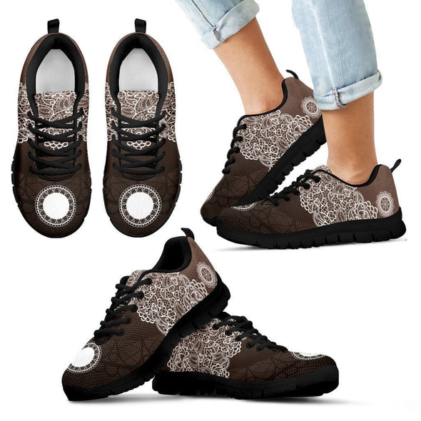 Kids Lace Design Sneakers.