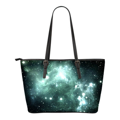 Team Electric Small Leather Tote