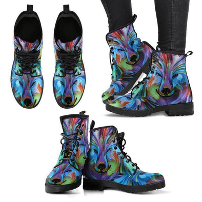 Clearance Colorful Wolf Boots