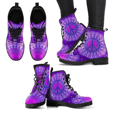 Clearance Peace and Mandala Boots