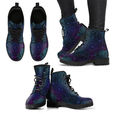 Clearance Purple Mandala Boots
