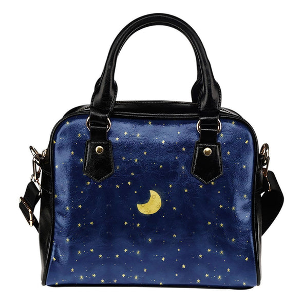 Moon and Stars Shoulder Bag
