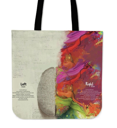 Left Brain Right Brain Tote