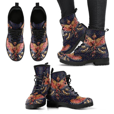 HandCrafted Colorful Wings Boots