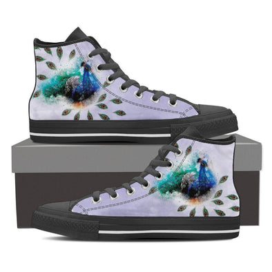 Womens Peacock High Top.