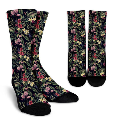 Flower Mandala Socks