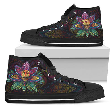 Womens Sugar Lotus Mandala High Top