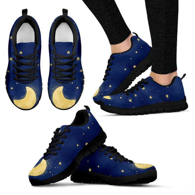 Custom Moon and Stars Sneakers