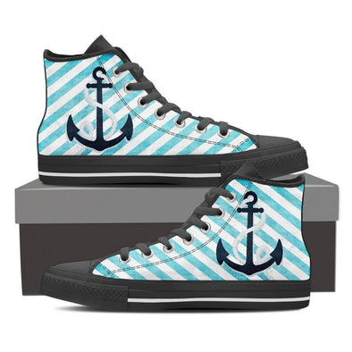 Womens Nautical High Top.