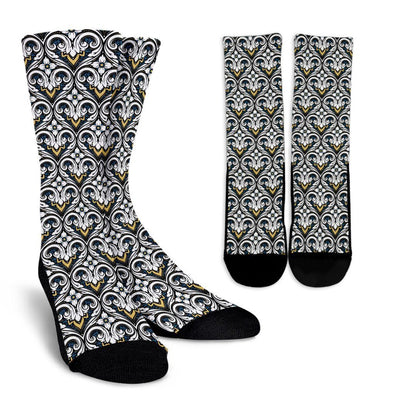 Fractal Flower Socks