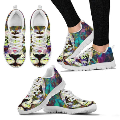 Womens Lion Sneakers.
