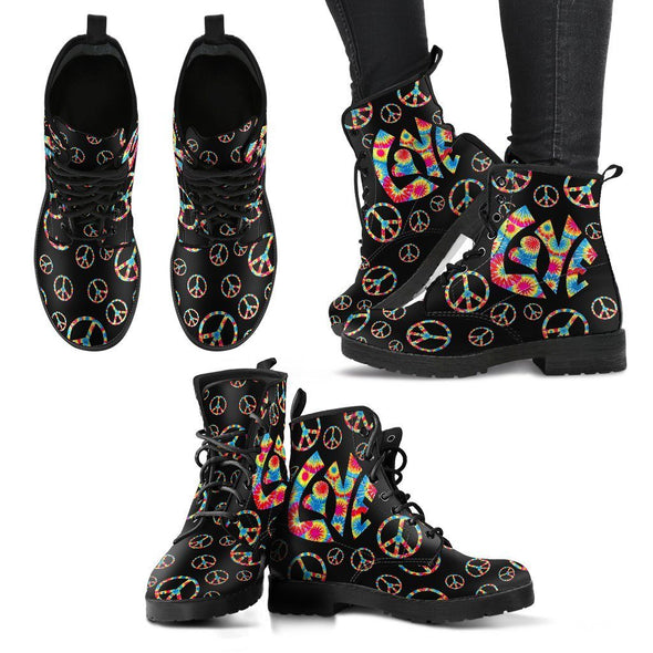 Hippie Love Peace All-over Boots