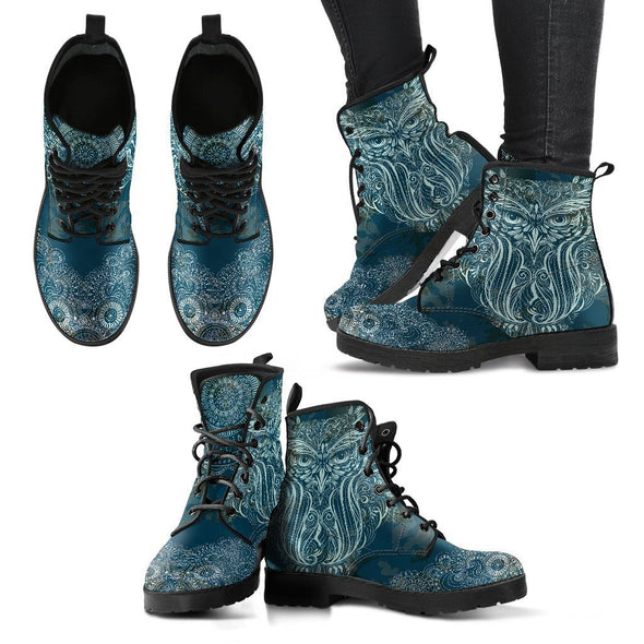 Handcrafted Owl Boots