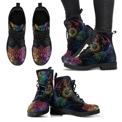 Clearance Colorful Sun and Moon Boots