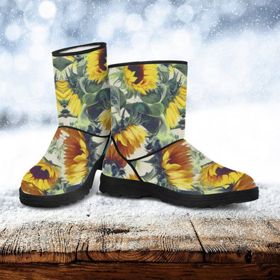 Sunflower Faux-Fur Boots